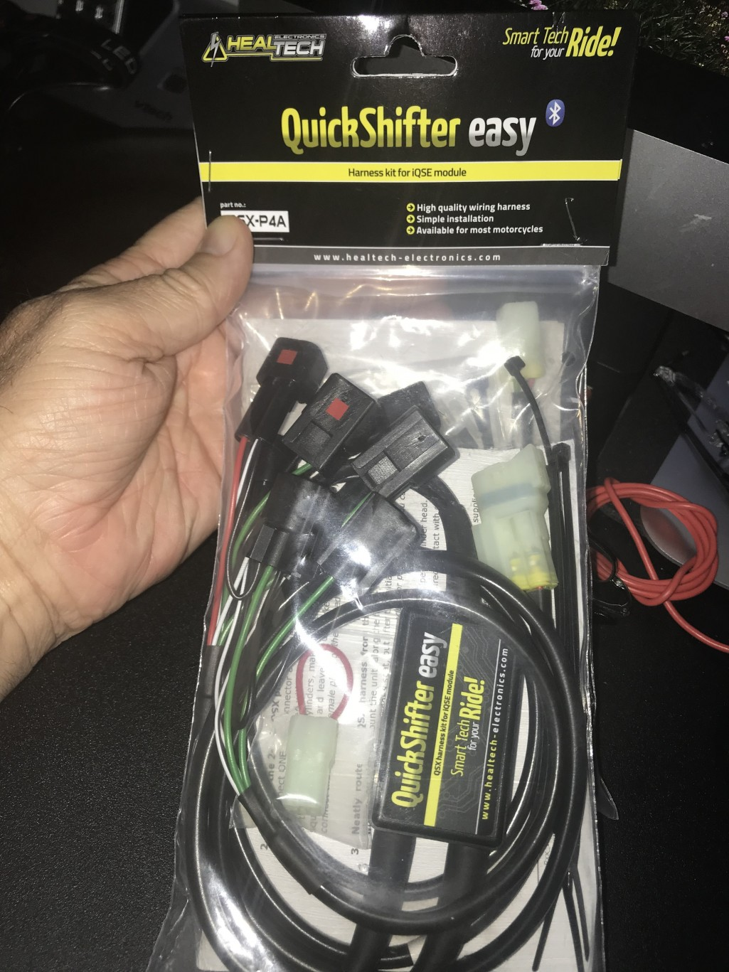 Healtech Quickshifter Lighting Electrical And Wiring Harness Module What Do You Need For Your Trying To Decide If I Should Install It Myself Or Have The Dealership When They My First 600 Mile Service In 2 Weeks Recommendations